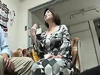 Buxom Japanese Housewife Has A Fiery Honey Hole Aching For