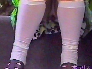 Teen Uniform Girls Upskirt Panties Outdoor