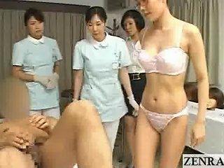 Bizarre MILF Japan Doctor Strips For Medicinal Blowjob