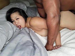 Asian Slut Blacked And Creampied